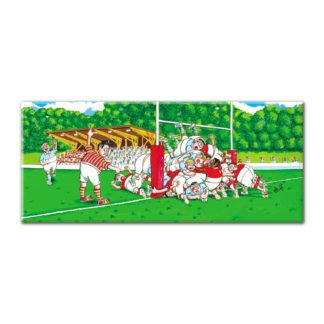 dessin cortez rugby l'en but humour