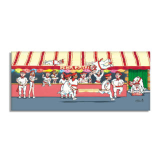 dessin pena fêtes de bayonne festaires
