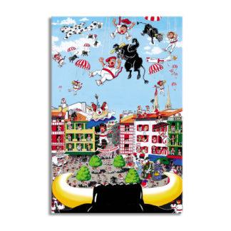 affiche fêtes de bayonne festaires