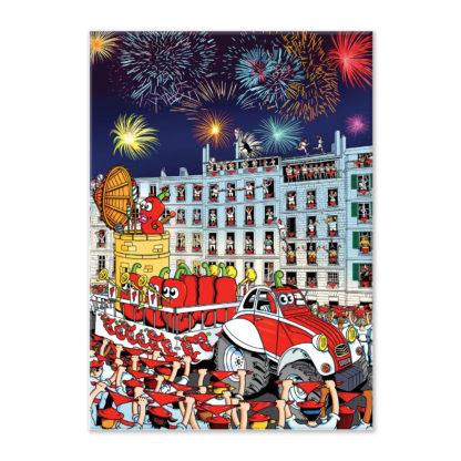 affiche fêtes de bayonne piments festaires