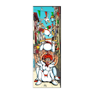 dessin fêtes de bayonne festaires