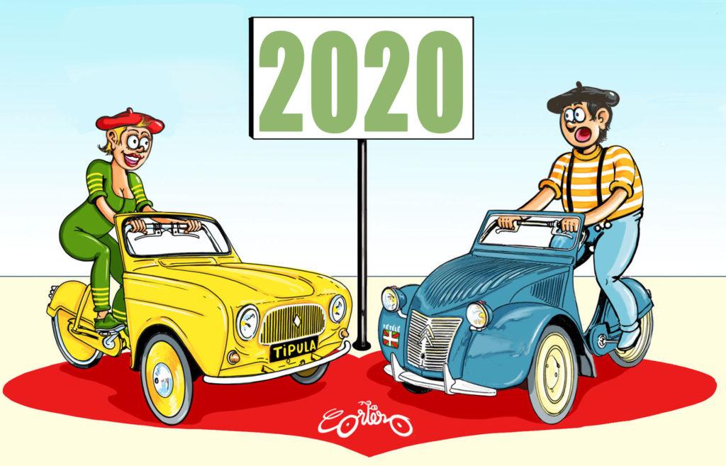 blog de Cortez voitures deux chevaux à pédales