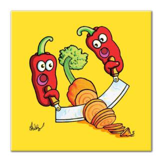 piment coupe carotte humour dessin