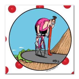 dessin Cortez cycliste vélo baver humour
