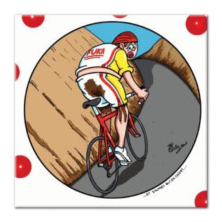 dessin Cortez vélo cycliste humour